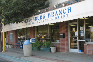 fresno county public library kingsburg branch library