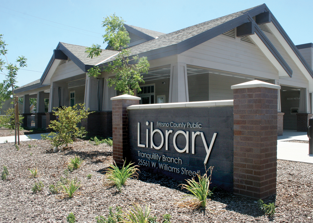 fresno county public library tranquillity branch library